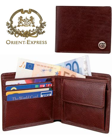 Orient Express Luxus Geldbörse