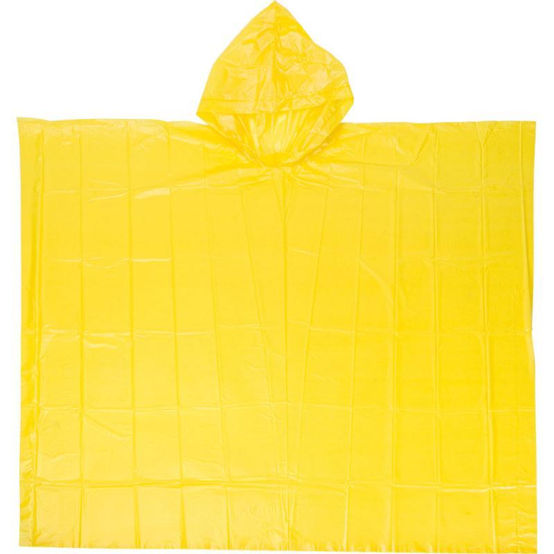 Regenponcho gelb Universalgrösse